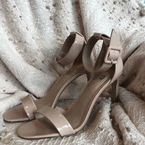 Sole Society {Mix No.6} Nude Strappy Heels